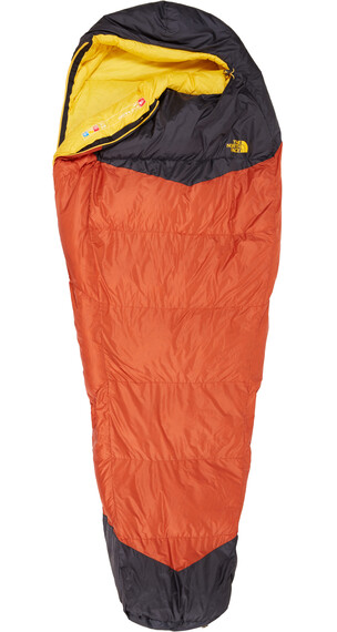 The North Face Gold Kazoo Sleeping Bag Regular Orange Rust/Asphalt